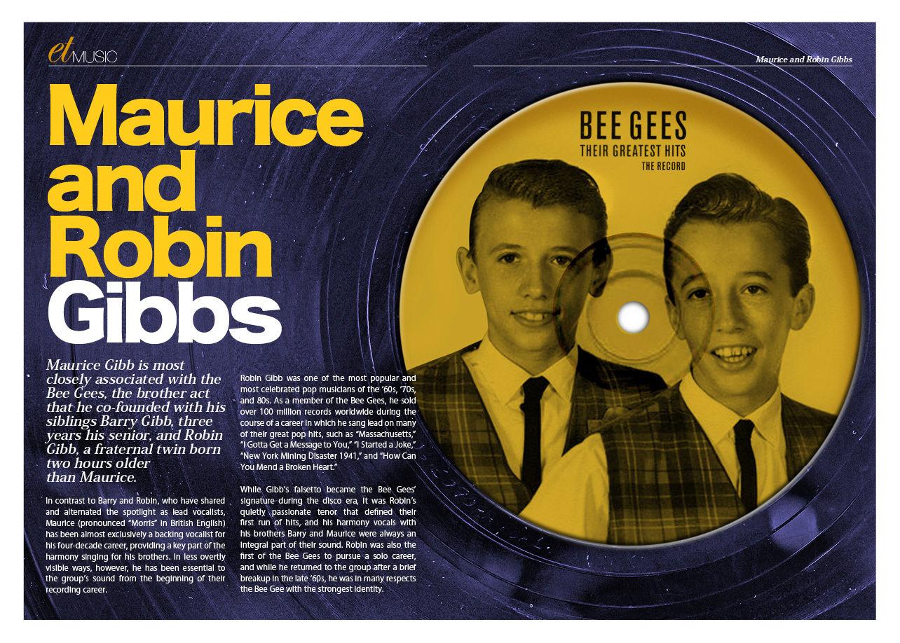 et Music - The Bee Gees